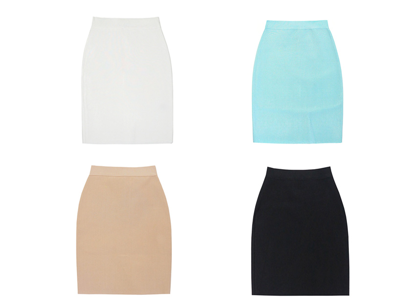 (SALE) Bandage Mini Skirt