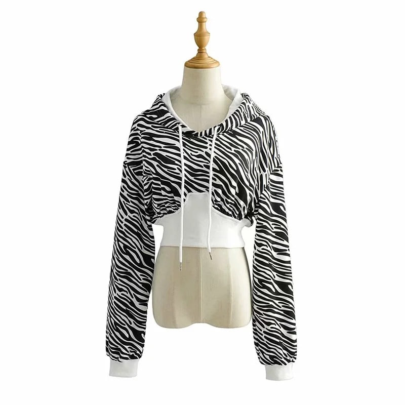 Zebra Hoodie (same day shipping available)