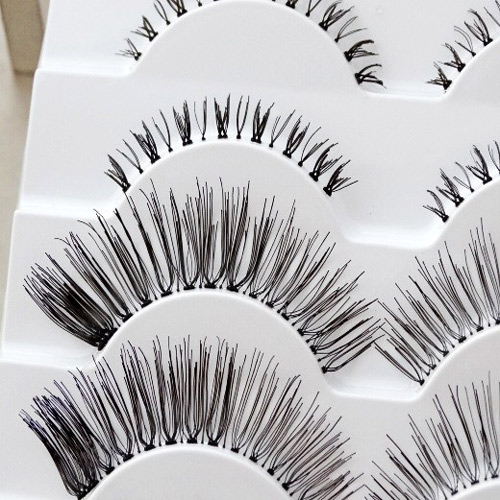 Clear Line Eyelash set