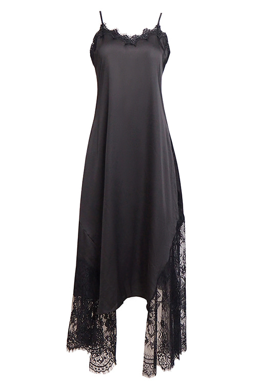 Lace Slip Maxi Dress