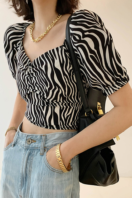 Wild Crop Blouse