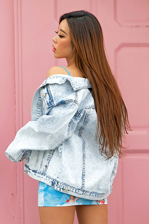 Salt Washed Denim Jacket (재입고)