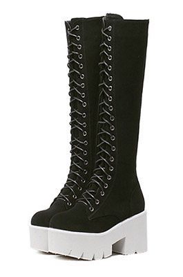 Lace Up Long Boot (재입고)
